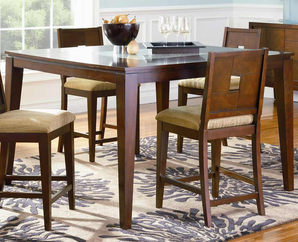 Coaster Mia Counter Height Dining Set