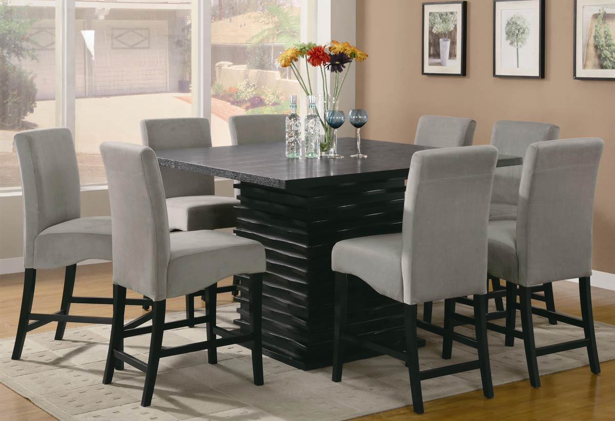 Merveilleux Coaster Stanton Square Counter Height Dining Set
