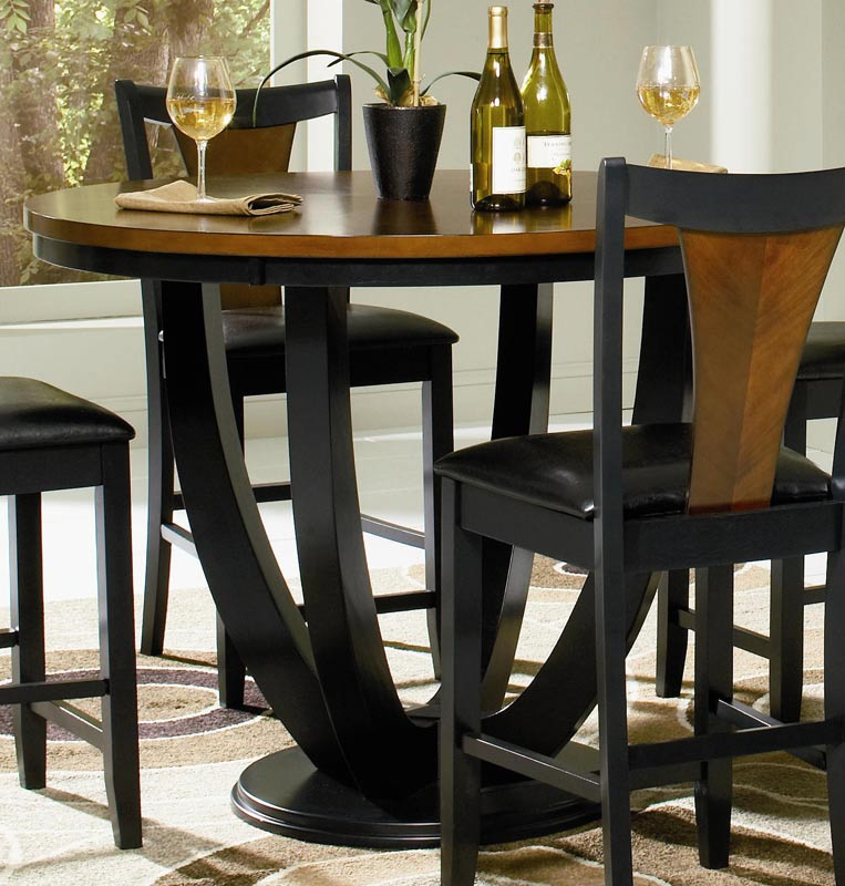 Coaster Boyer Round Counter Height Dining Set