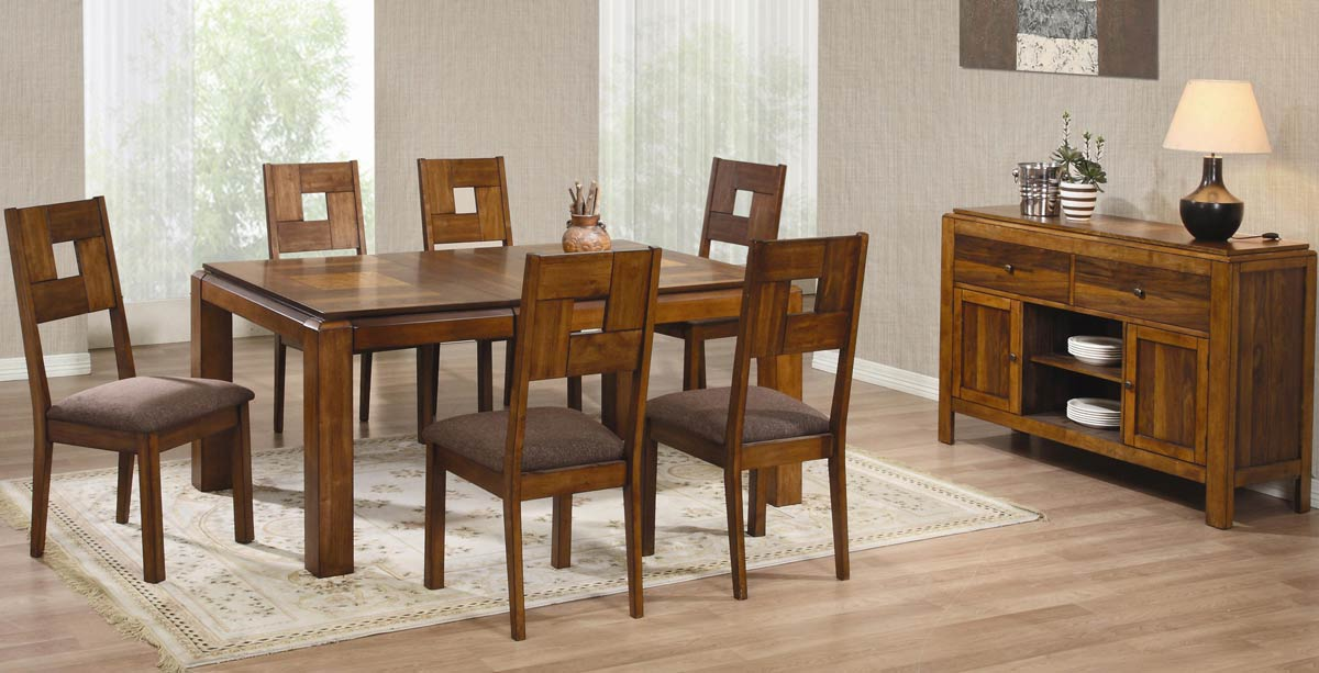 Coaster La Cienega Rectangular Dining Set