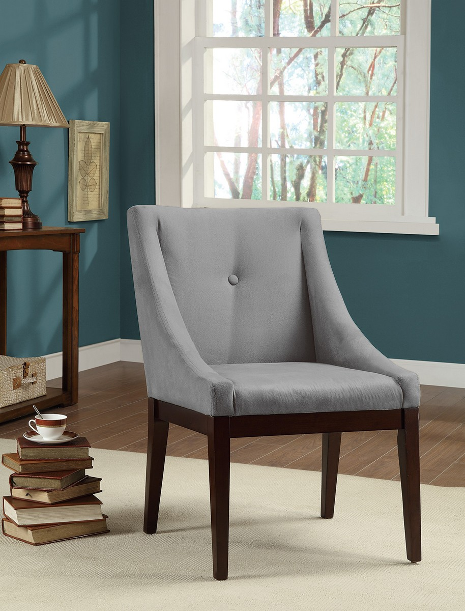 Coaster 102232 Accent Chair - Cappucino/Grey