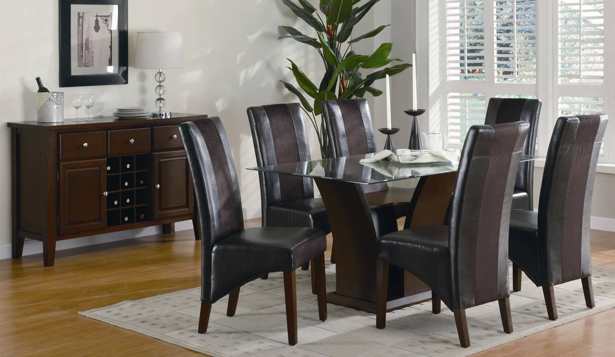 Coaster Rodeo Rectangular Dining Set