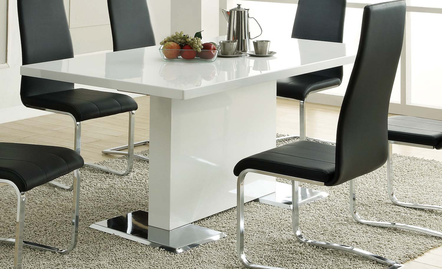 Coaster Mix & Match Dining Table - White