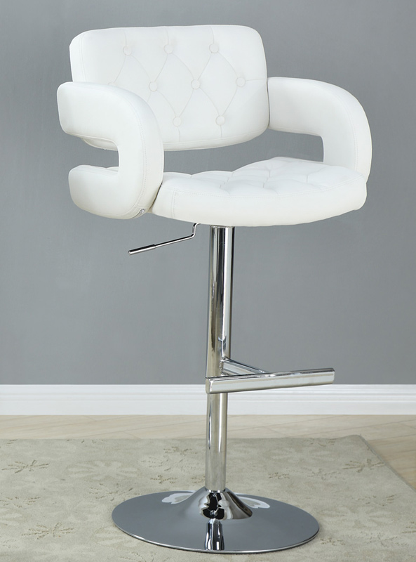 Coaster 102557 Bar Stool - White