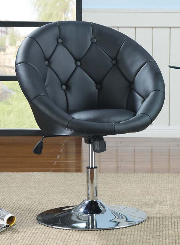 Coaster 10258X Swivel Chair - Black