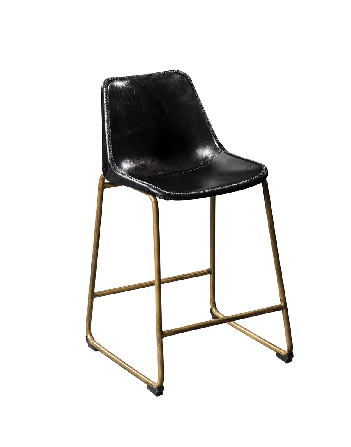 Coaster Bynum Counter Height Stool Antique Black 102967