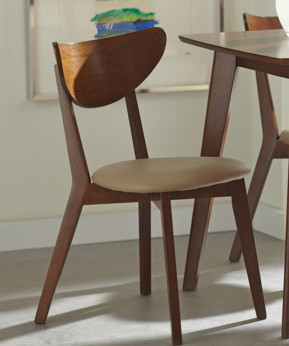 Coaster Kersey Side Chair - Chestnut