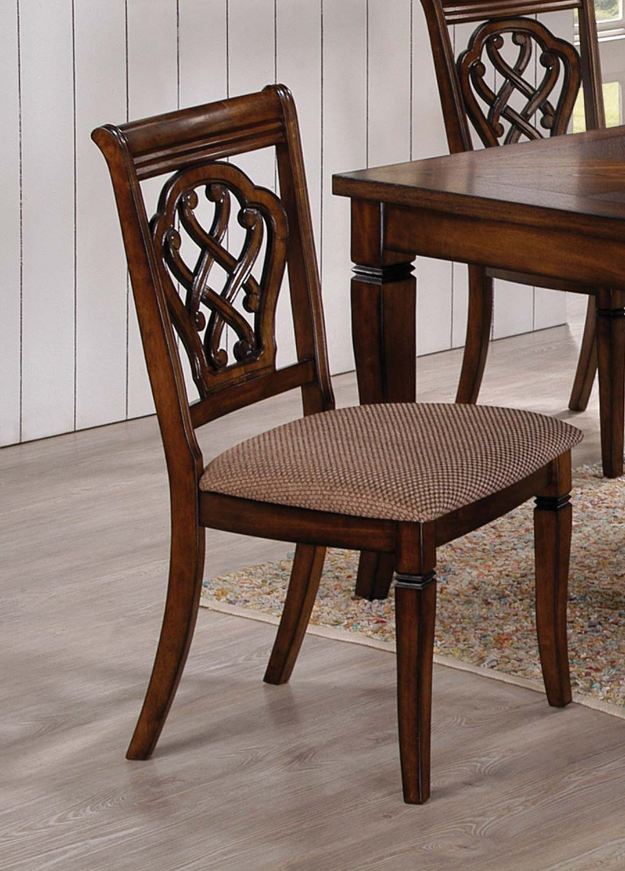 Coaster Hayden Dining Chair   Oak