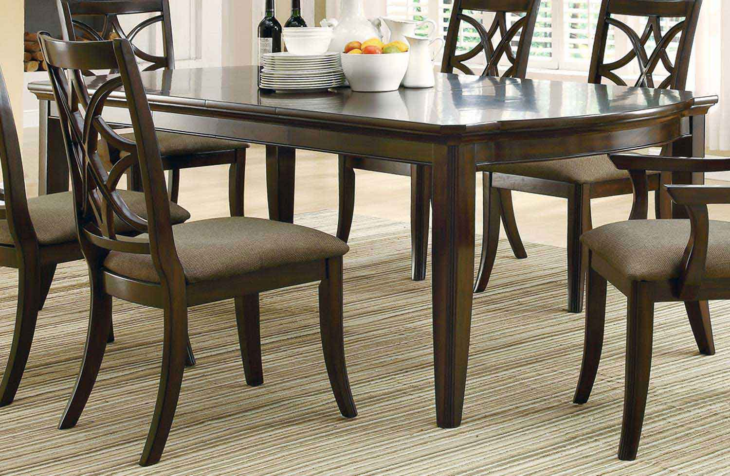 Coaster Meredith Dining Table Espresso Coaster