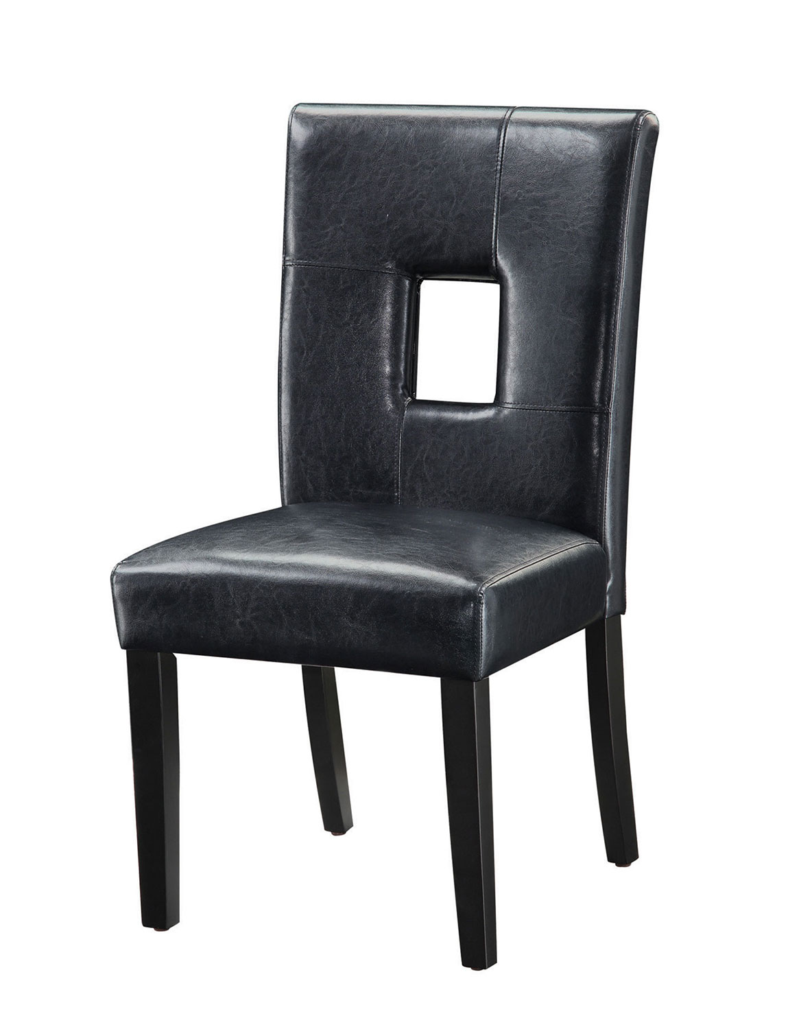 Coaster 103612BLK Parson Side Chair - Black