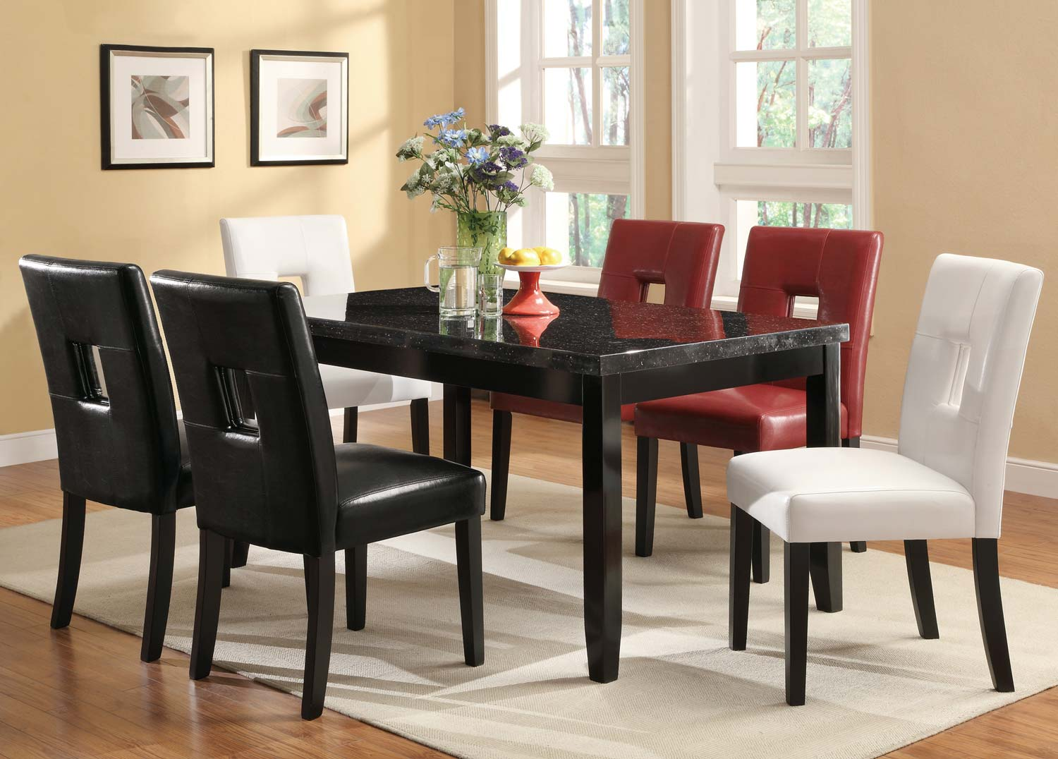 Coaster Newbridge Dining Set - Cappuccino