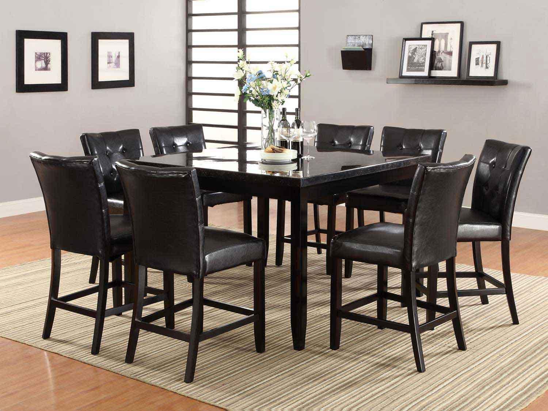Coaster Newbridge Counter Height Dining Set - Cappuccino