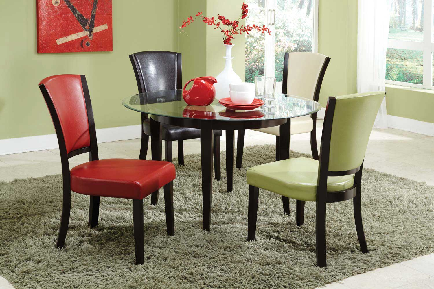 Coaster Mix & Match Dining Set - Espresso