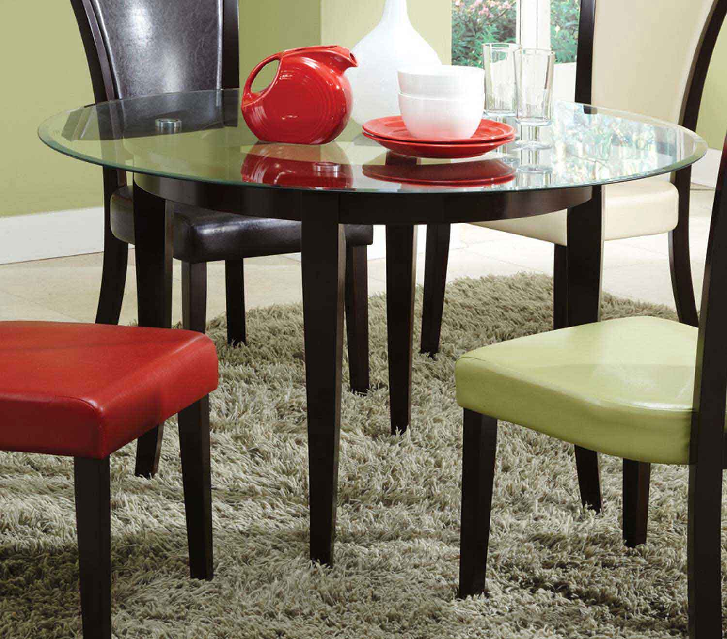 Coaster Mix Match Dining Table Espresso 103681
