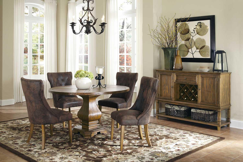 Coaster Parkins Dining Set - Coffee