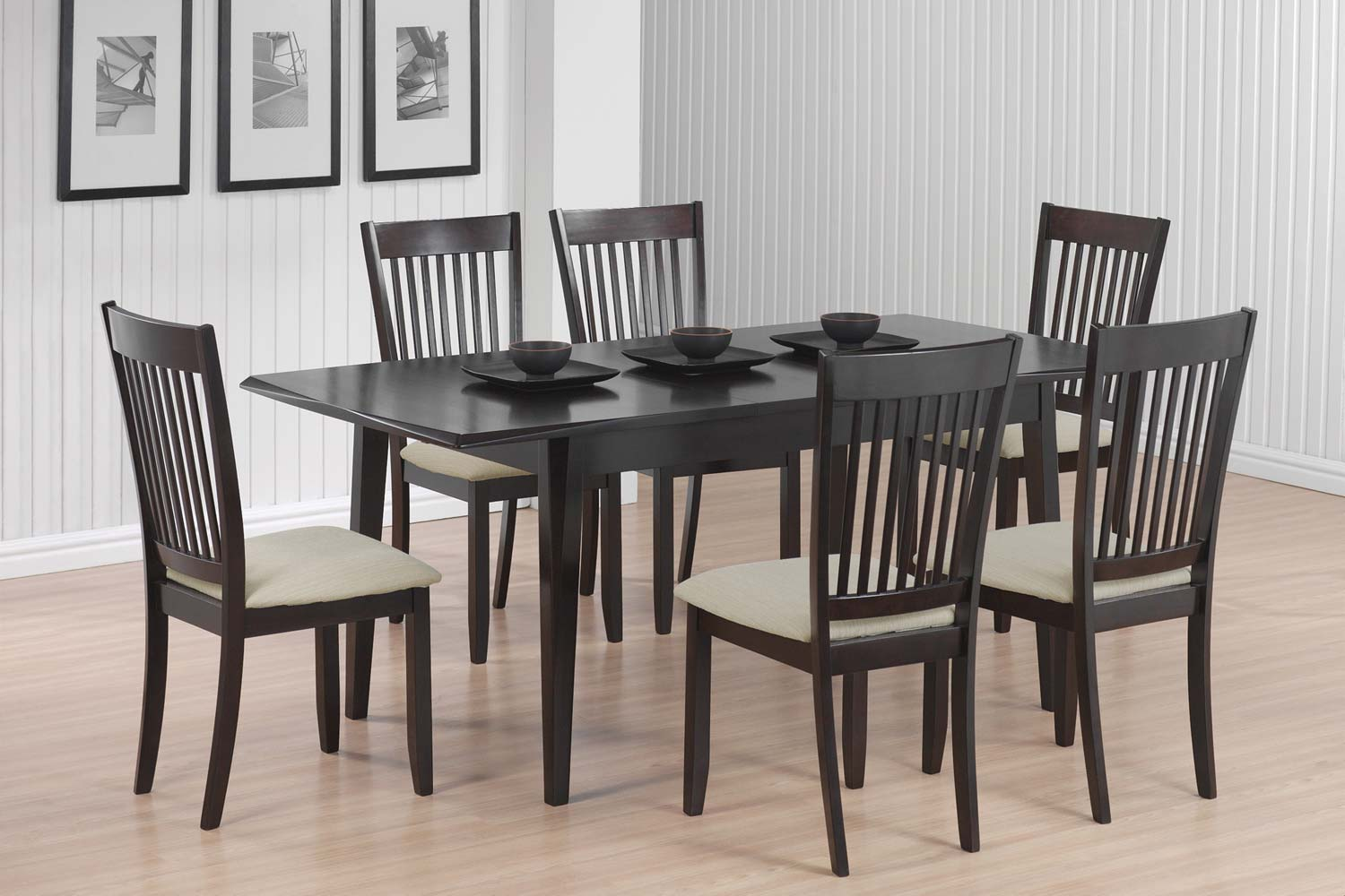 Coaster 103721 Dining Set - Cappuccino