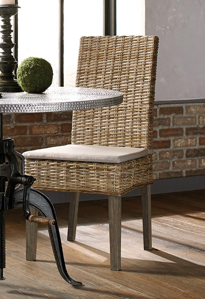 Coaster Rhea Side Chair - Khaki Fabric