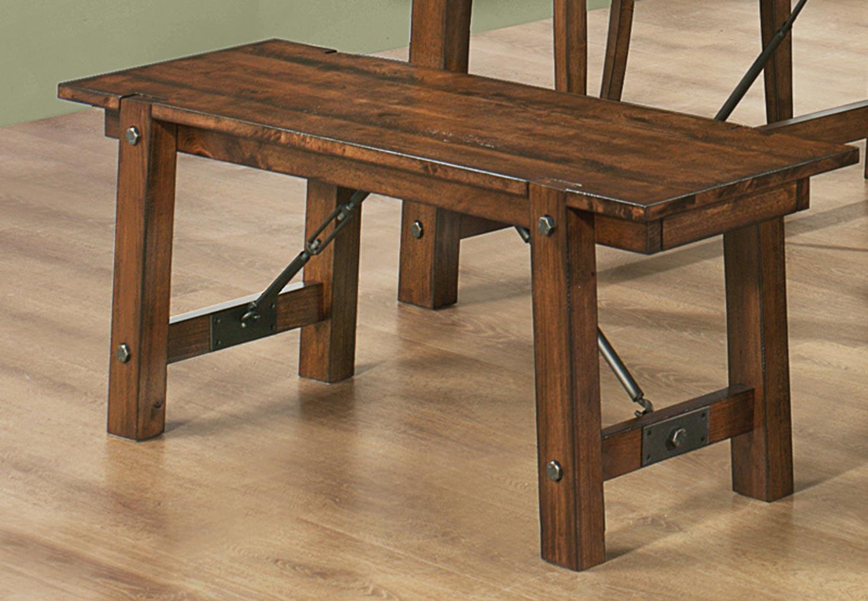 Coaster Lawson Dining Set Rustic Oak 103991 Din Set At