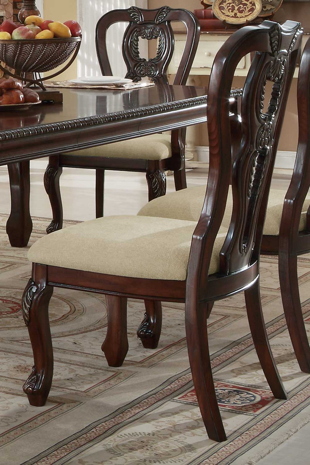 Coaster Alexander Side Chair - Cherry