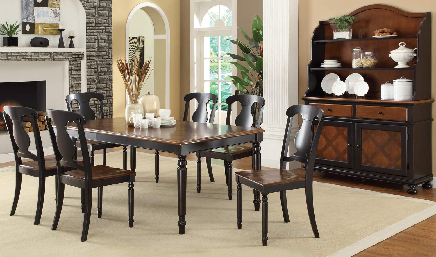 Coaster Conner Dining Set - Tobacco