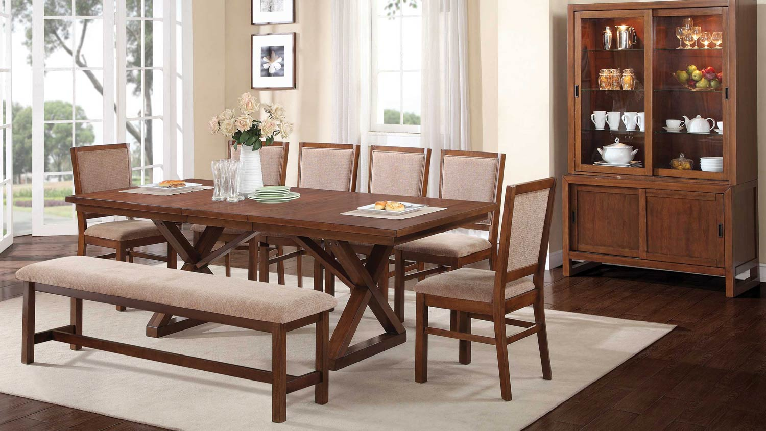 Coaster Camila Dining Set - Walnut