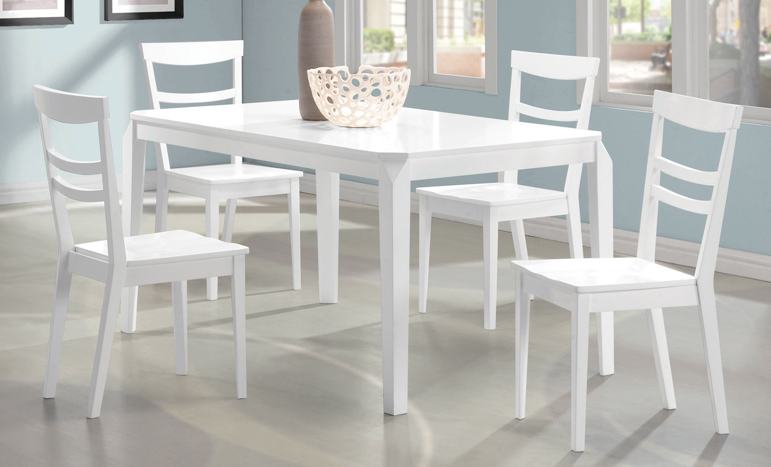 Coaster Henson Dining Set - White