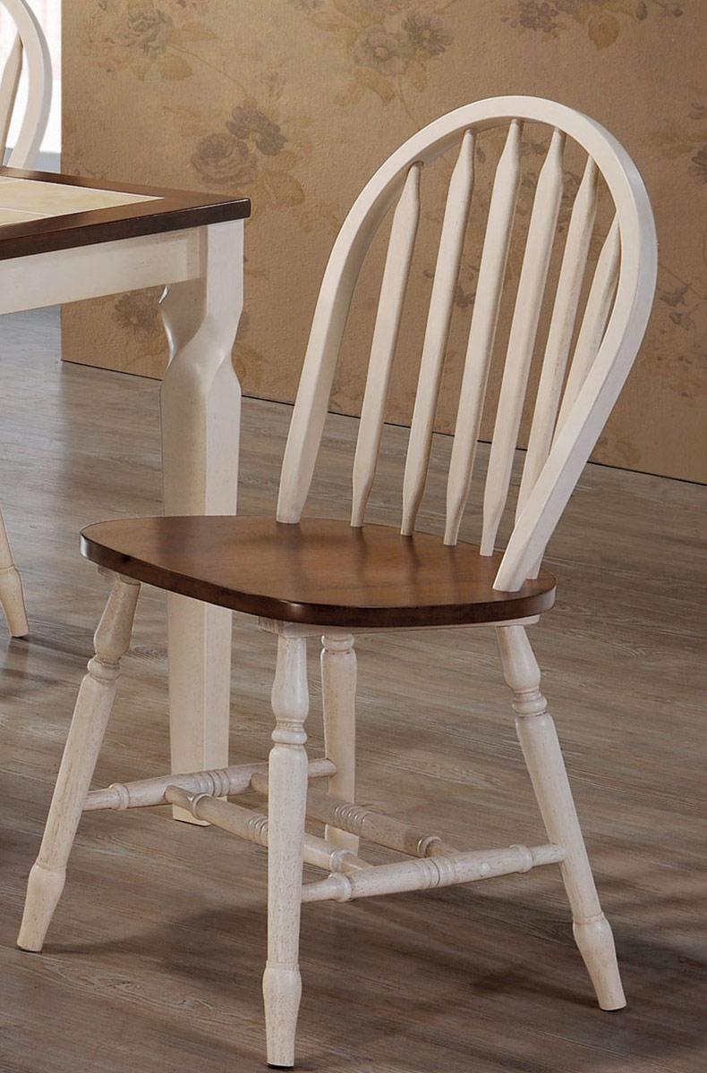 Coaster Bradley Side Chair - Warm Brown/Antique Beige
