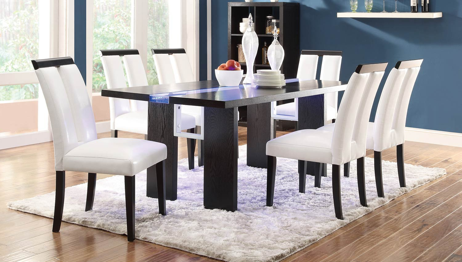 Coaster Kenneth Dining Set - Black