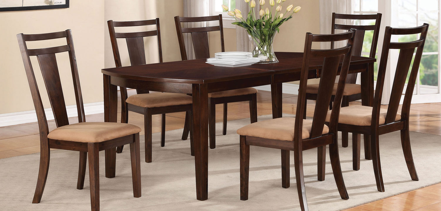 Coaster Antonia Dining Set - Cappuccino