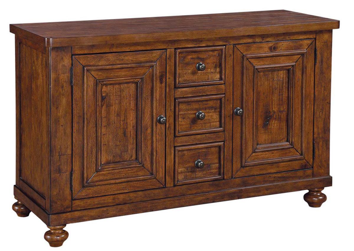 Coaster jonas server rustic brown 104725 at for Jonas furniture