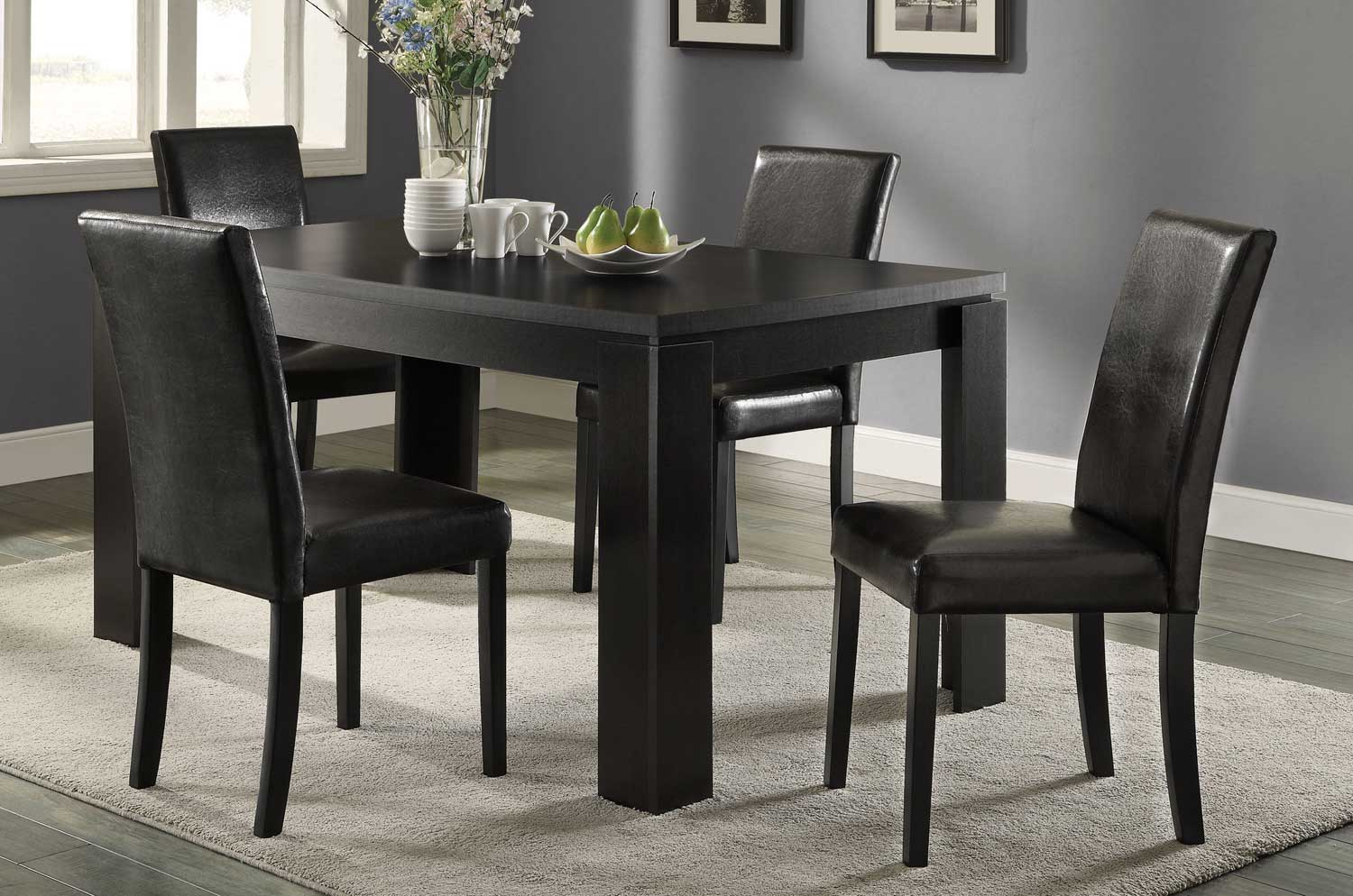 Coaster Knoxville Dining Set - Cappuccino