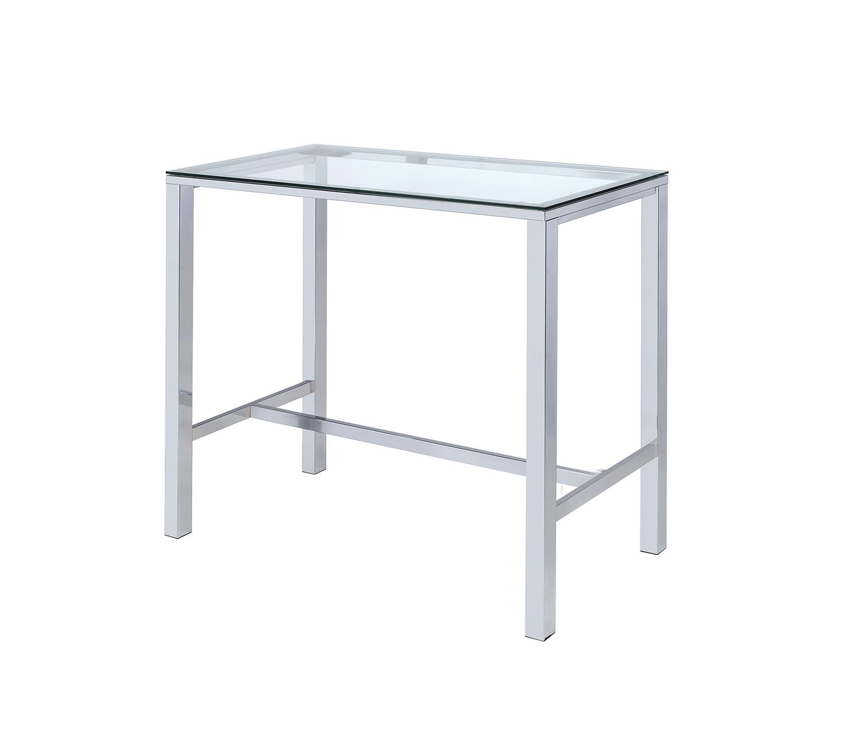 Coaster 104873 Bar Table - Clear Acrylic