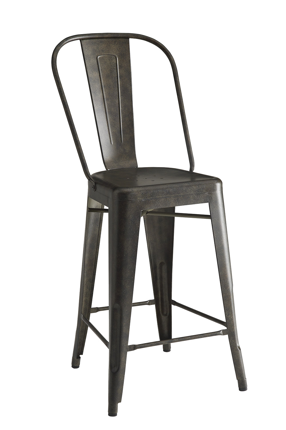 Coaster Lahner Counter Height Stool - Antique Brown