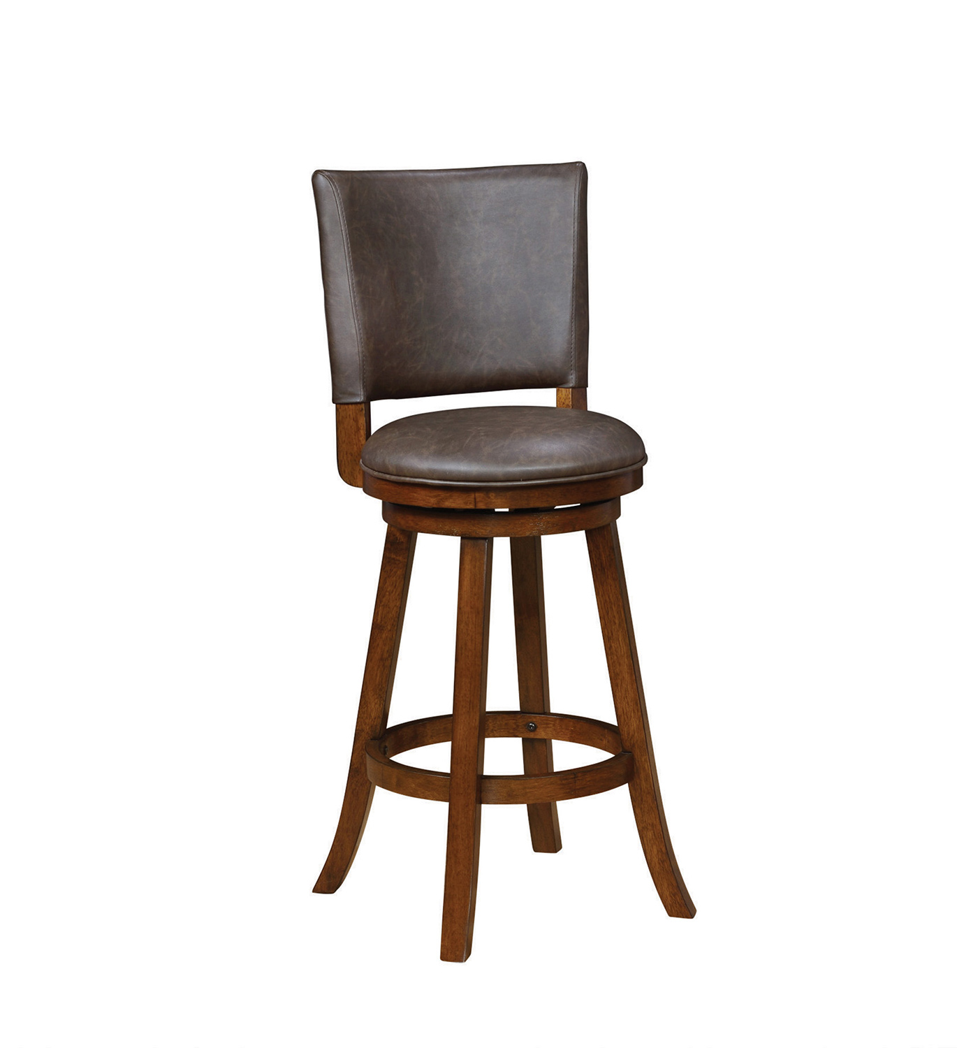 Coaster 104894 Swivel Bar Stool - Brown/Chestnut