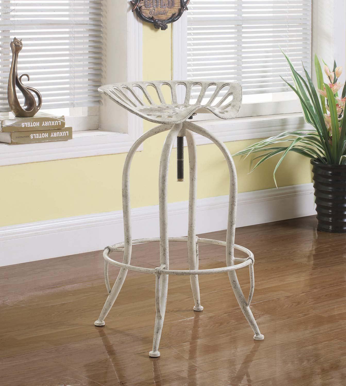 Coaster 104947 Bar Stool - Antique White