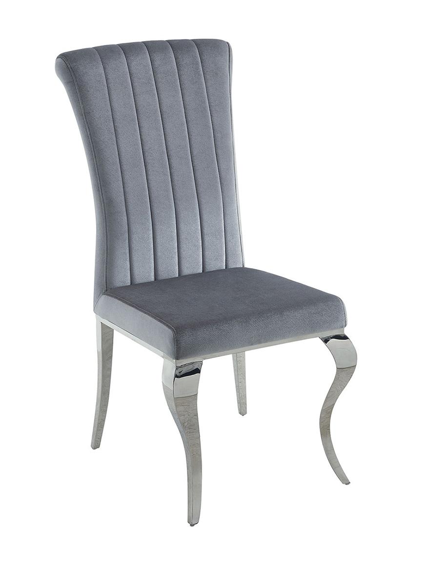 Coaster Manessier Side Chair - Chrome