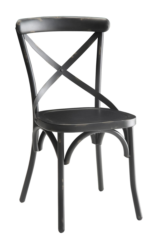 Coaster Nagel Dining Side Chair - Dark Rustic Metal