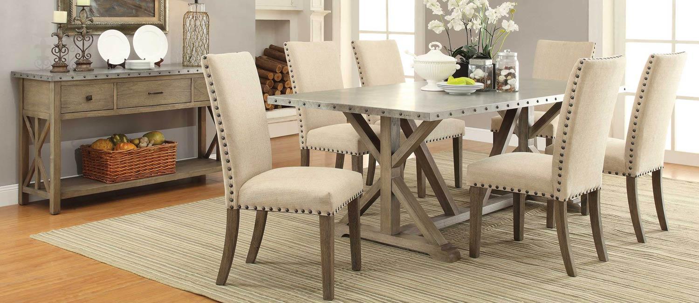 Coaster Webber Dining Set - Driftwood