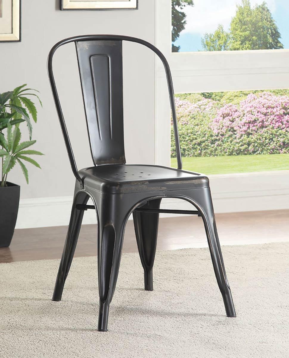 Coaster Oswego Side Chair - Black