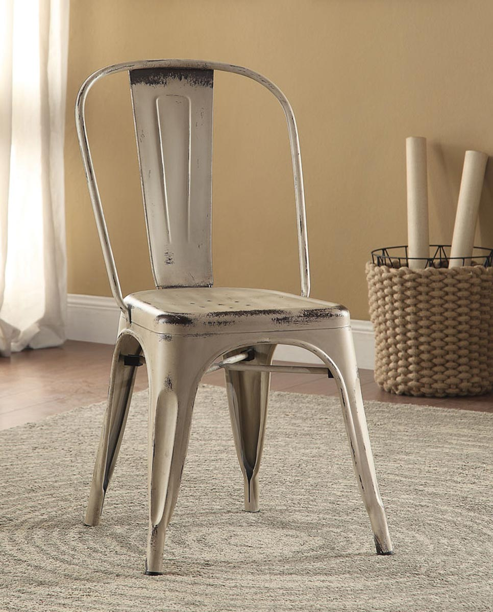 Coaster Oswego Side Chair - White