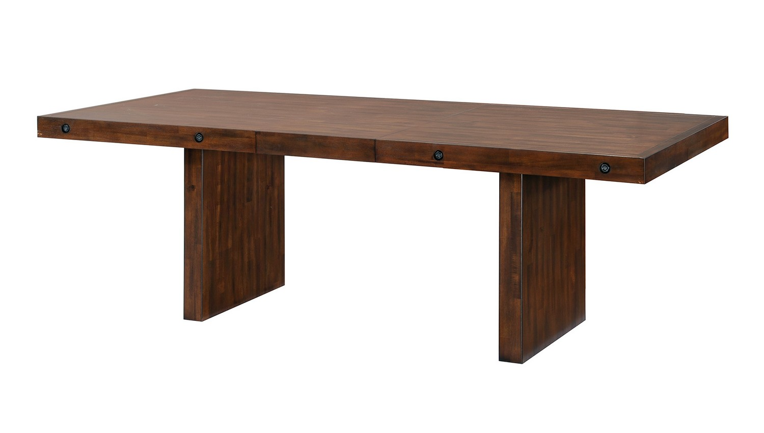 Coaster montague dining table rustic brown at