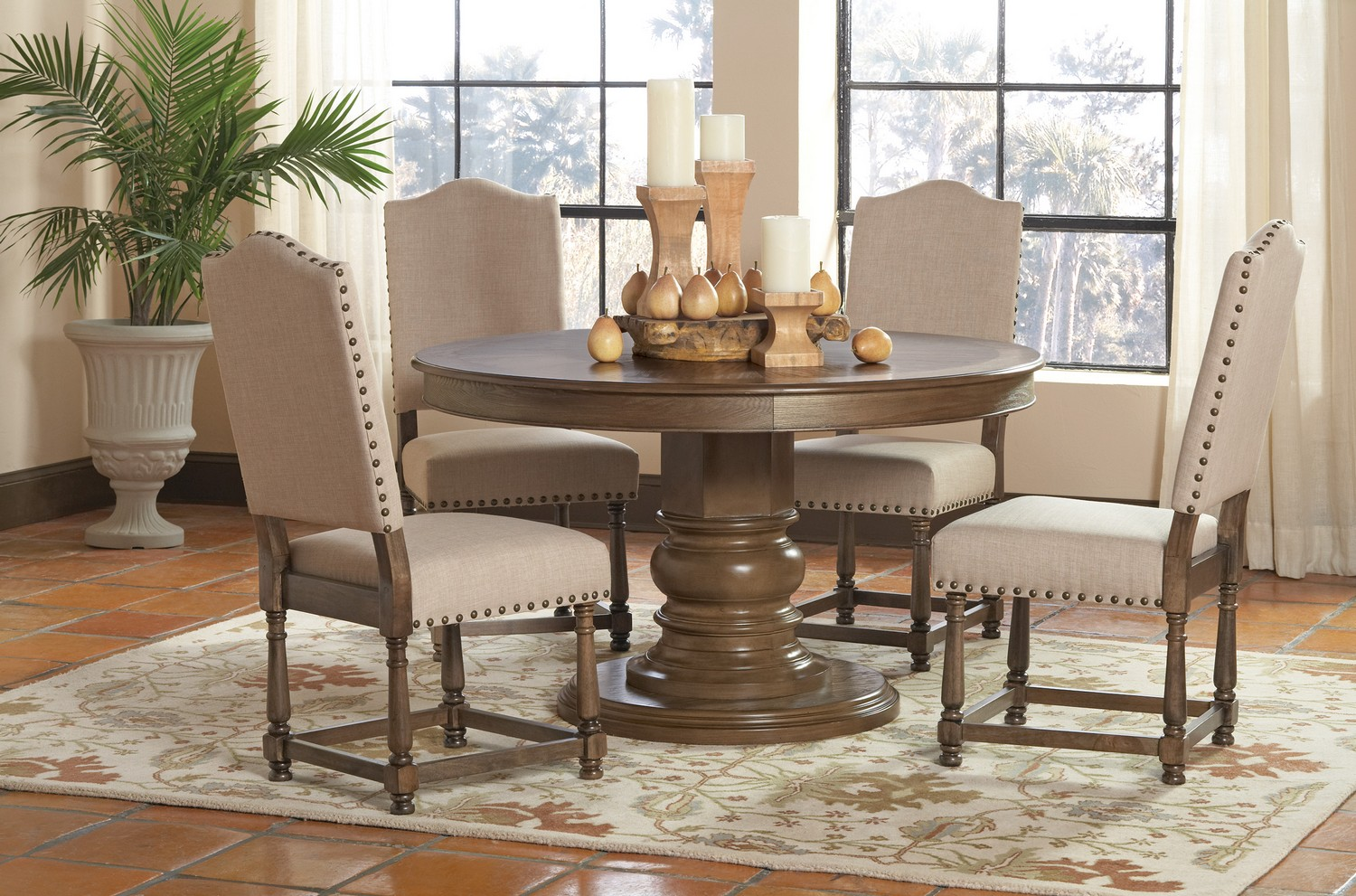 Coaster Willem Round Dining Set -