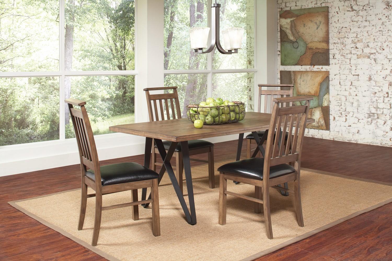 Coaster Ferguson Dining Set - Rustic Taupe