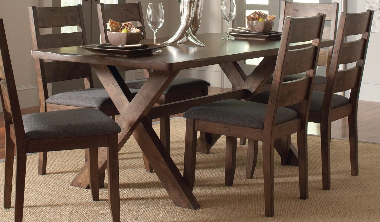 Coaster Alston Dining Table - Knotty Nutmeg