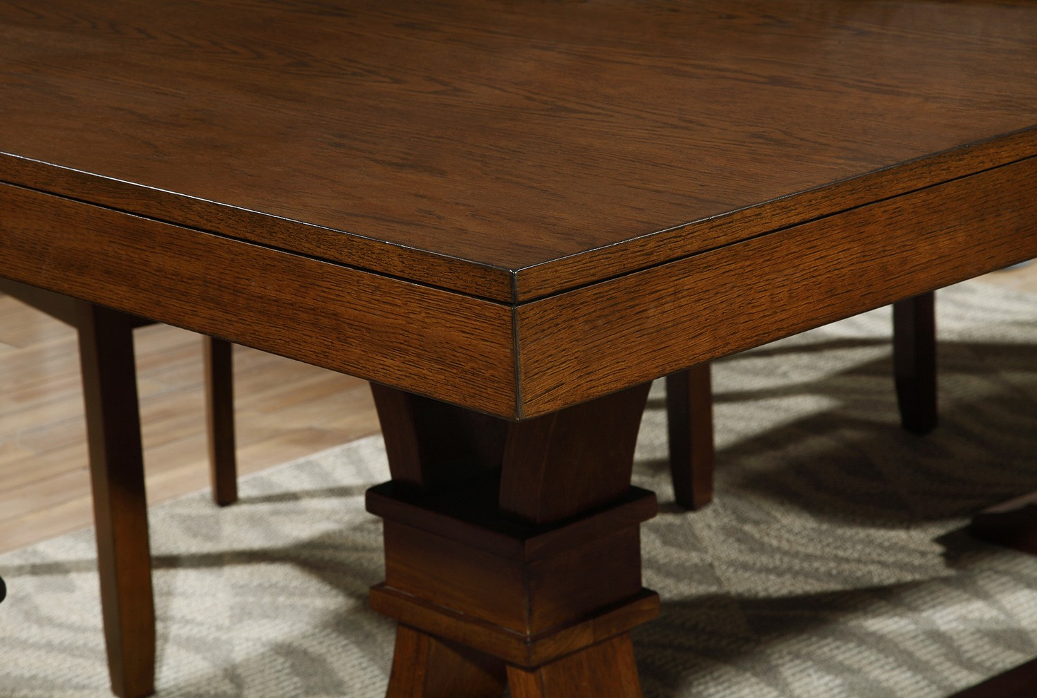 Coaster Abrams Dining Table - Truffle