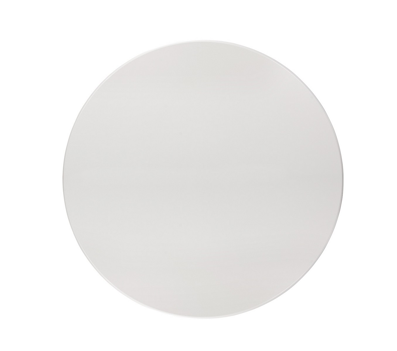 Coaster Allston Round Dining Table - White