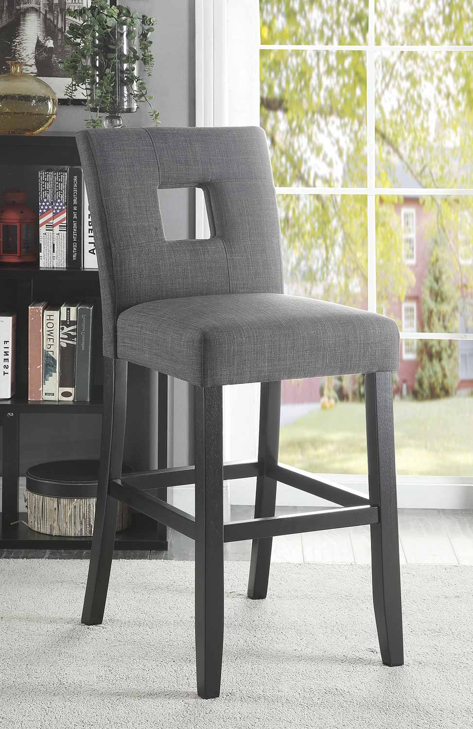 Coaster Andenne Counter Height Chair - Grey/Black