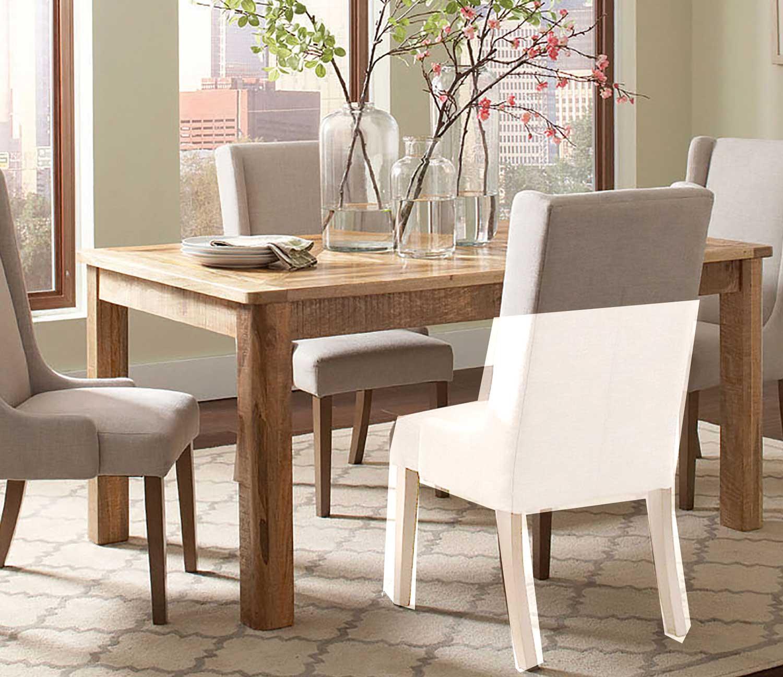 Coaster Solomon Rectangular Dining Table Natural Mango at