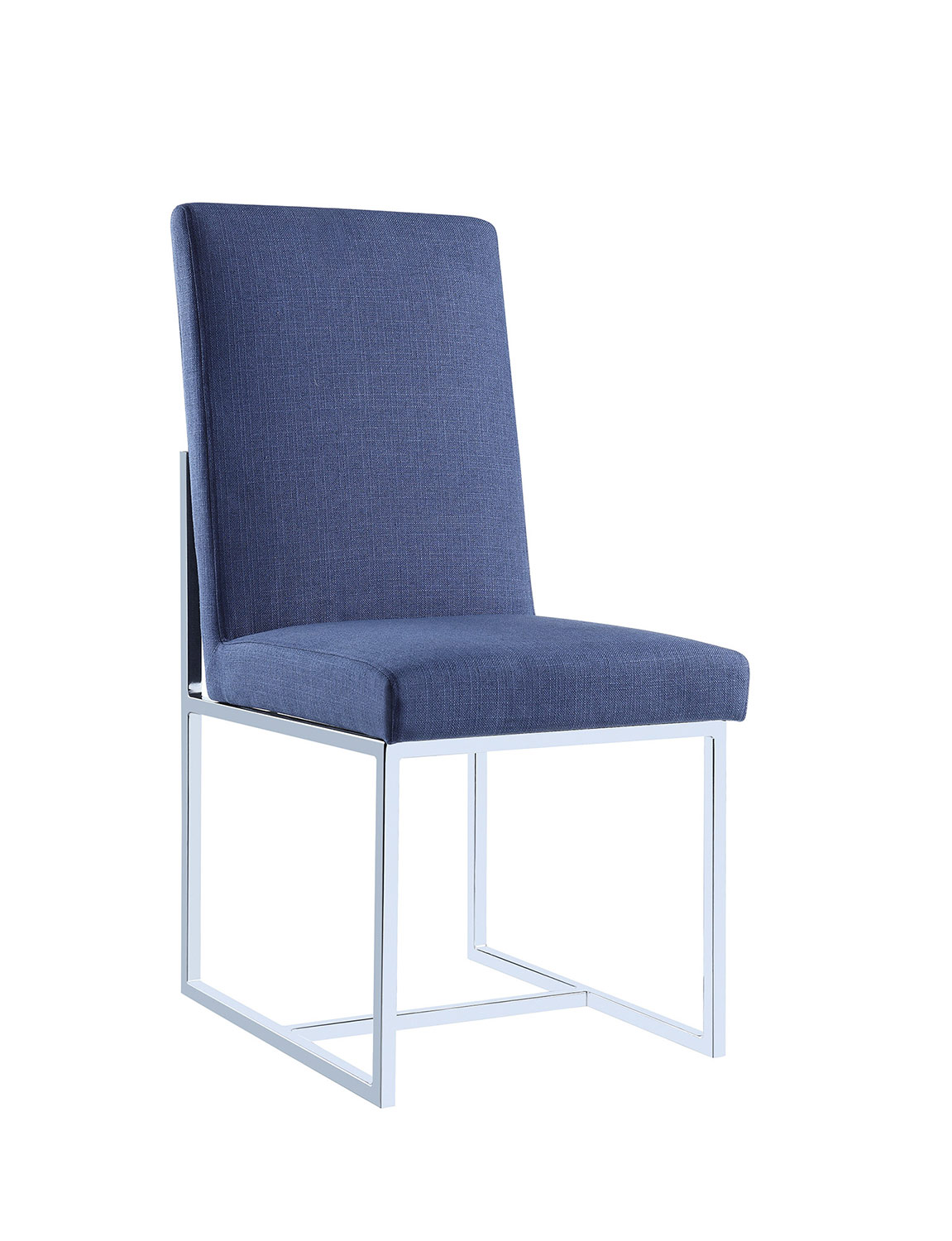 Coaster 107142 Side Chair - Blue