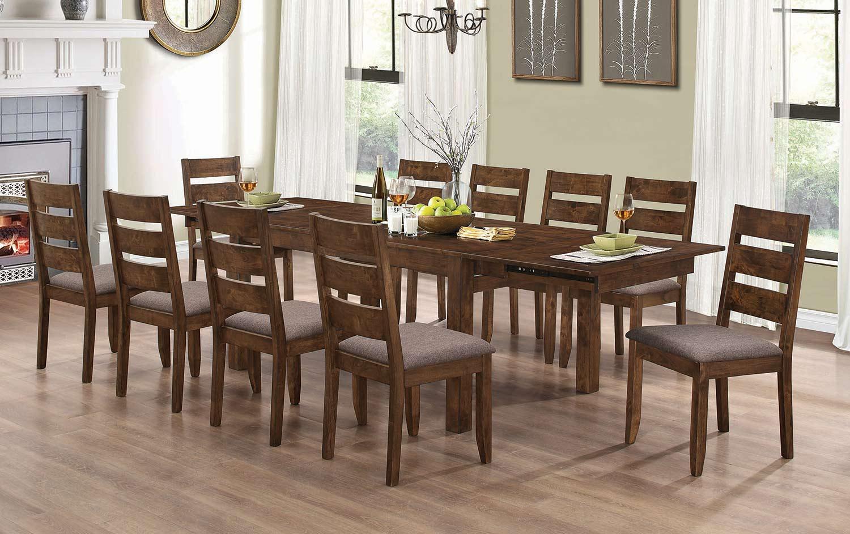 Coaster Alston Rectangular Dining Set